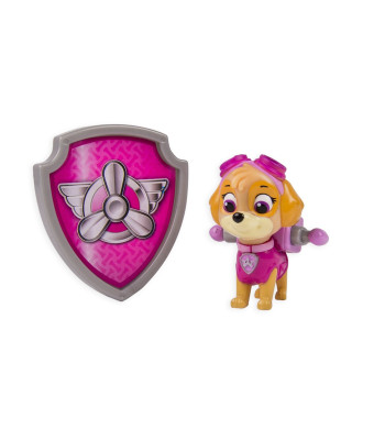 Nickelodeon, Paw Patrol - Action Pack Pup and Badge - Skye