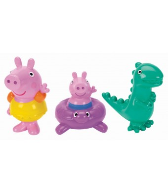 Fisher-Price Peppa Pig Peppa, George and Dinosaur Bath Squirters