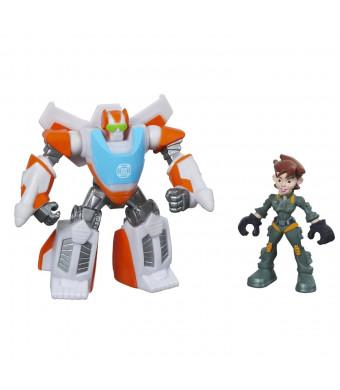 Playskool Heroes Transformers Rescue Bots Blades The Flight-Bot and Dani Burns Figure Pack
