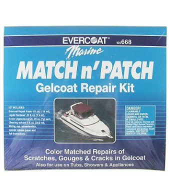 Fiberglass Evercoat Match and Patch Kit