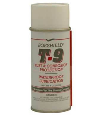 Boeshield T-9 Waterproof Lubrication 4 oz aerosol