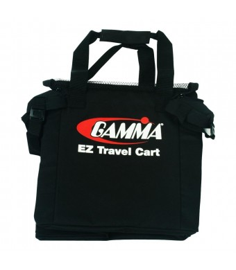 Gamma Ballhopper Ez Travel Cart Bag, Black