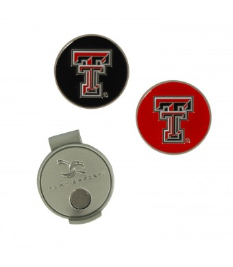 Texas Tech Hat Clip and Ball Markers