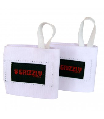 Grizzly Fitness Elastic Cotton Wrist Wrap