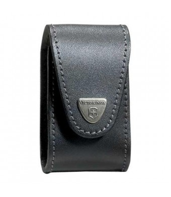 Victorinox Swiss Army SwissChamp XLT Leather Pouch, Black