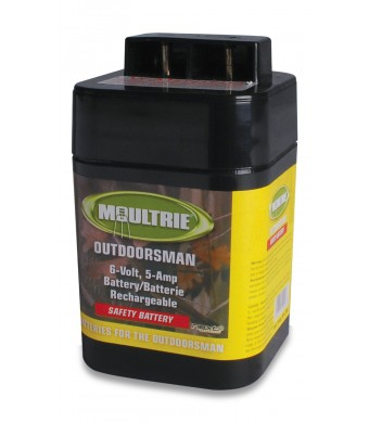 Moultrie 6-volt Battery Rechargeable Safety Top