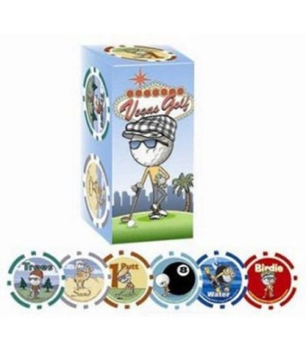 AMA Golf Vegas Game Includes 8 Game Chips