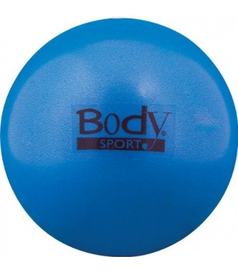"""BodySport FusionBall 7.5 - 10""""  Mini Fitness Ball - Use for pilates. Inflates with included straw. Ideal for isometrics, Core work. No pump necessary!"""