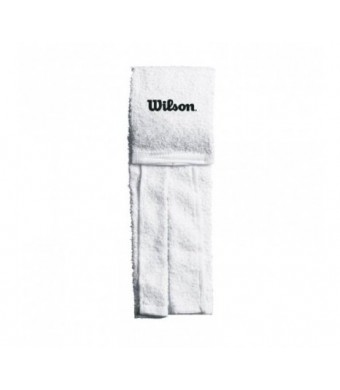 Wilson Field Towel Wilson Logo Only (White, One Size Fits All)