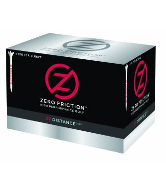 Zero Friction Distance 312 Golf Balls