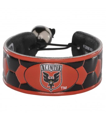 MLS DC United Team Color Soccer Bracelet