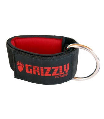 Grizzly Fitness 2-Inch Neoprene Ankle Strap