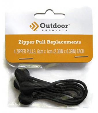 Outdoor Products Zipper Pull Replacement 4 Pack