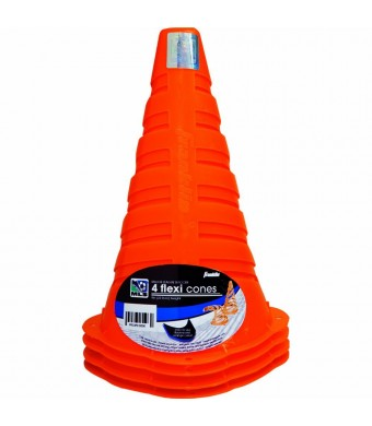 Franklin Sports MLS 9-Inch Flexi Cones (Pack of 4)