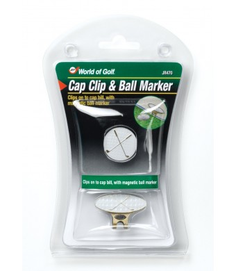 Jef World of Golf Gifts and Gallery, Inc. Cap Clip and Ball Markers