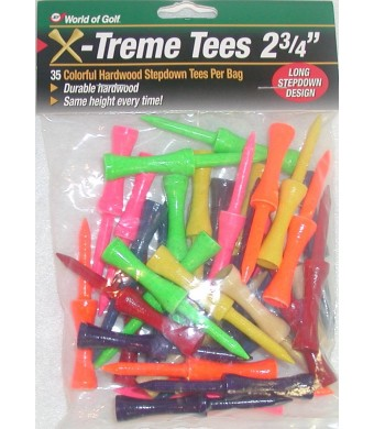 Jef World of Golf Gifts and Gallery, Inc. 2 3/4-Inch Extreme Step Tee - 35 Pack
