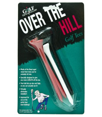 Golf Gifts and Gallery Over The Hill Tees