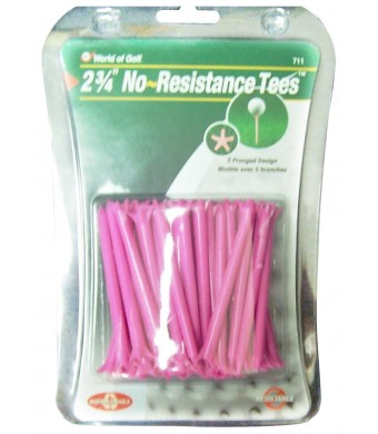 Golf Gifts and Gallery 40-Pack No Resistance Tees (2 3/4-Inch)