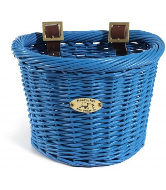 Nantucket Bike Basket CompanyGull and Buoy Collection Child D-Shape Bike Basket