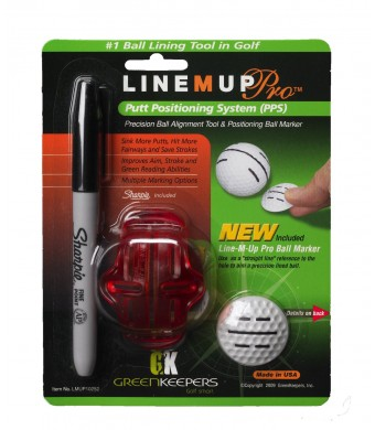 Greenkeepers Line M Up Putt Positioning System