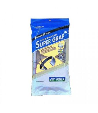 Yonex Super Grap Overgrip 30 Pack Yellow