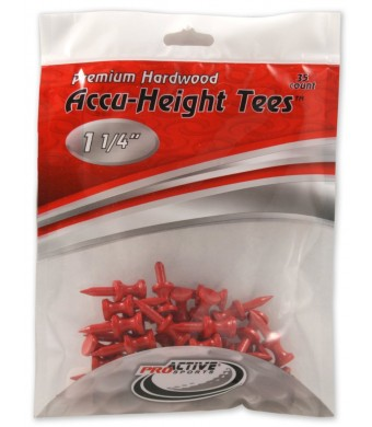 ProActive Sports 1 1/4-Inch Accu-Height Tees (35/Package)