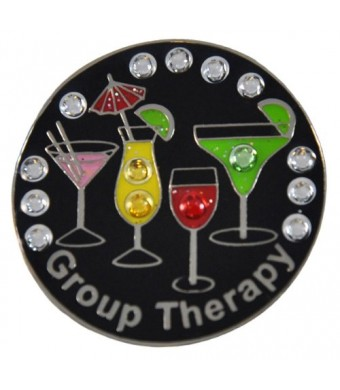 Navika Group Therapy Swarovski Crystal Ball Marker with Hat Clip