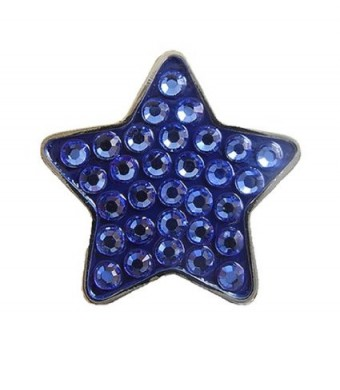 Bella Crystal Collection-USA Blue Star Hat Clip Set