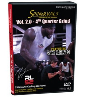 Spinervals Team Sports Training Series 2.0 4th Quater Grind DVD(feat. Ray Lewis)