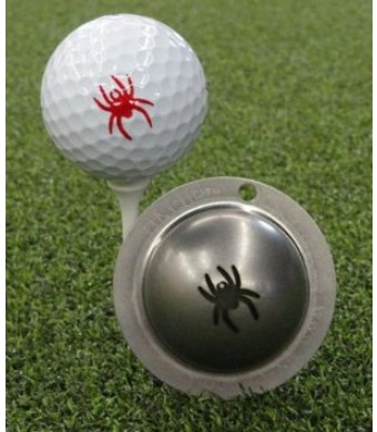 Tin Cup University of Richmond Golf Ball Marking Stencil, Steel
