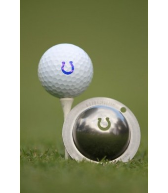 Tin Cup Ringer Golf Ball Marking Stencil, Steel