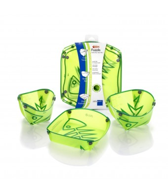 Fozzils Solo Pack (Cup, Bowl, Dish) - Spring Green