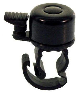 Ventura Mini Bicycle Bell with Quick Release (Black)