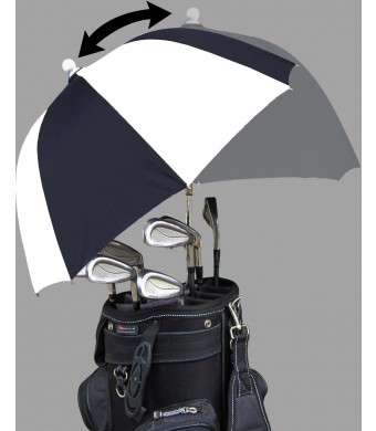 RainStoppers 34-Inch Deflector Golf Bag Umbrella