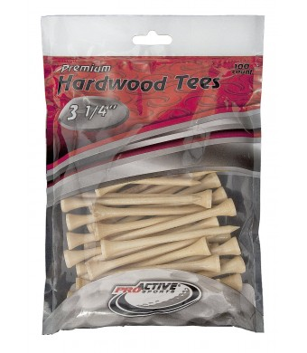 ProActive Sports ProActive Tees 3-1/4-Inch-100 Pack