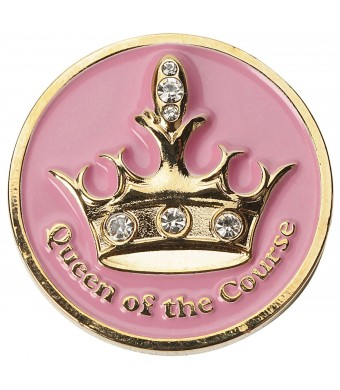 Navika Queen of the Course Swarovski Crystal Ball Marker with Hat Clip