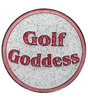 Navika Golf Goddess Glitzy Ball Marker with Hat Clip