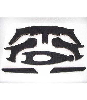 Replacement Thicker Helmet Foam Cushions Pads Set for Fox Flux Bicycle Helmet