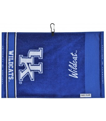 NCAA Kentucky Wildcats Jacquard Face/Club Towel