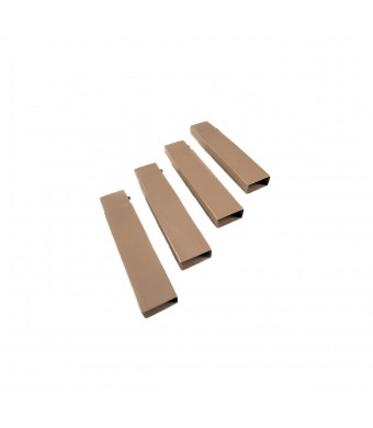 Disc-O-Bed Leg Extension Set, Tan