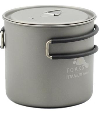 TOAKS Titanium 600ml Pot