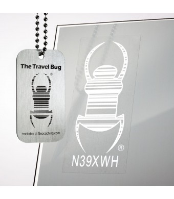Cache Advance Decal Vehicle Travel Bug