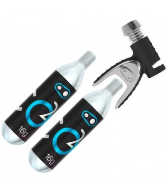 Crank Brothers CO2 Inflator + 2 Cartridges