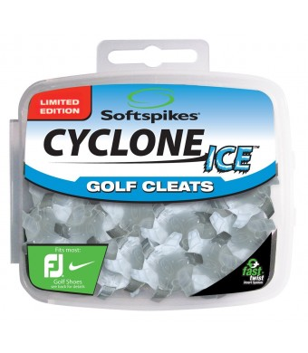 Softspikes Cyclone ICE Golf Cleat Kit, Fast Twist