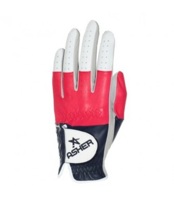 Asher Men's American Premium Glove, XX-Large, Left