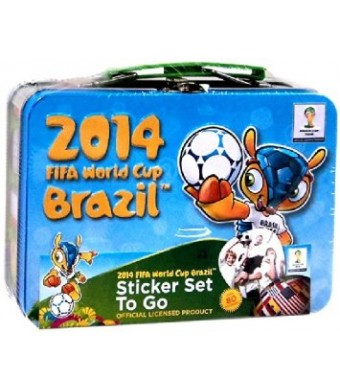 2014 FIFA World Cup Sticker Tin