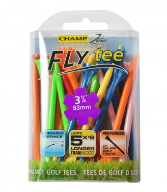 CHAMP Zarma FLYtee, Mixed Color, 3 1/4-Inch