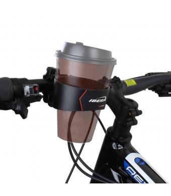 Ibera Bike Handlebar CupClamp, Black