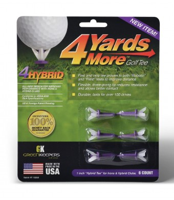 Greenkeepers 4 Hybrid Golf Tee