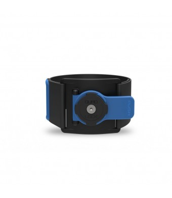 Annex Quad Lock Sports Armband, Black/Blue